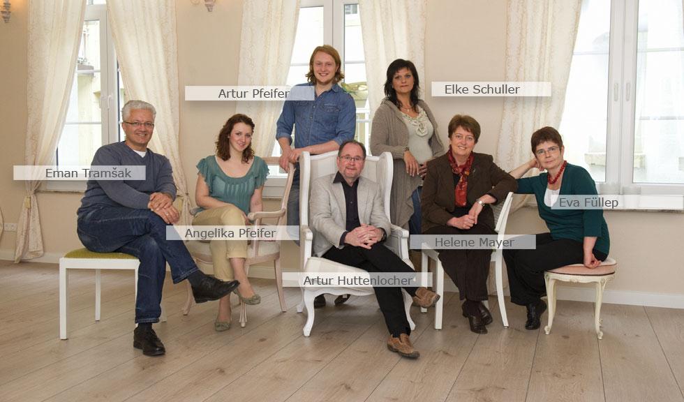 foto huttenlocher team
